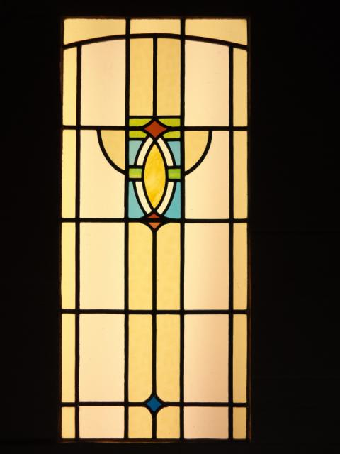 Art Deco stained glass and leaded windows  Holmfirth, Huddersfield ...
