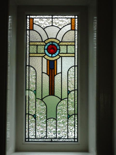 Holme valley stained glass photo gallery photographs and for Double glazed window designs