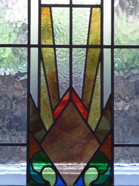 Holme valley stained glass photo gallery photographs and for Double glazing designs