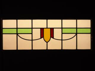 Art deco leaded glass