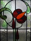 art nouvea stained glass