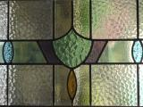 Encapsulated stained glass