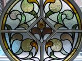 Antique stained glass restoration