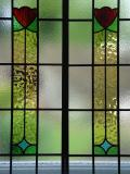 encapsulated leaded glass