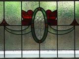 Antique English stained glass