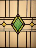Art Deco stained and leaded glass