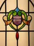 Antique stained glass encapsulation
